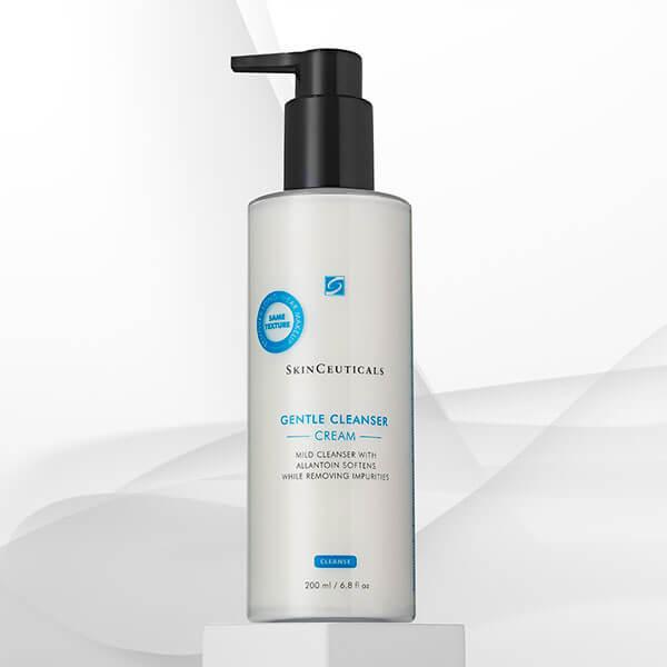 Limpiar los poros con Gentle Cleanser